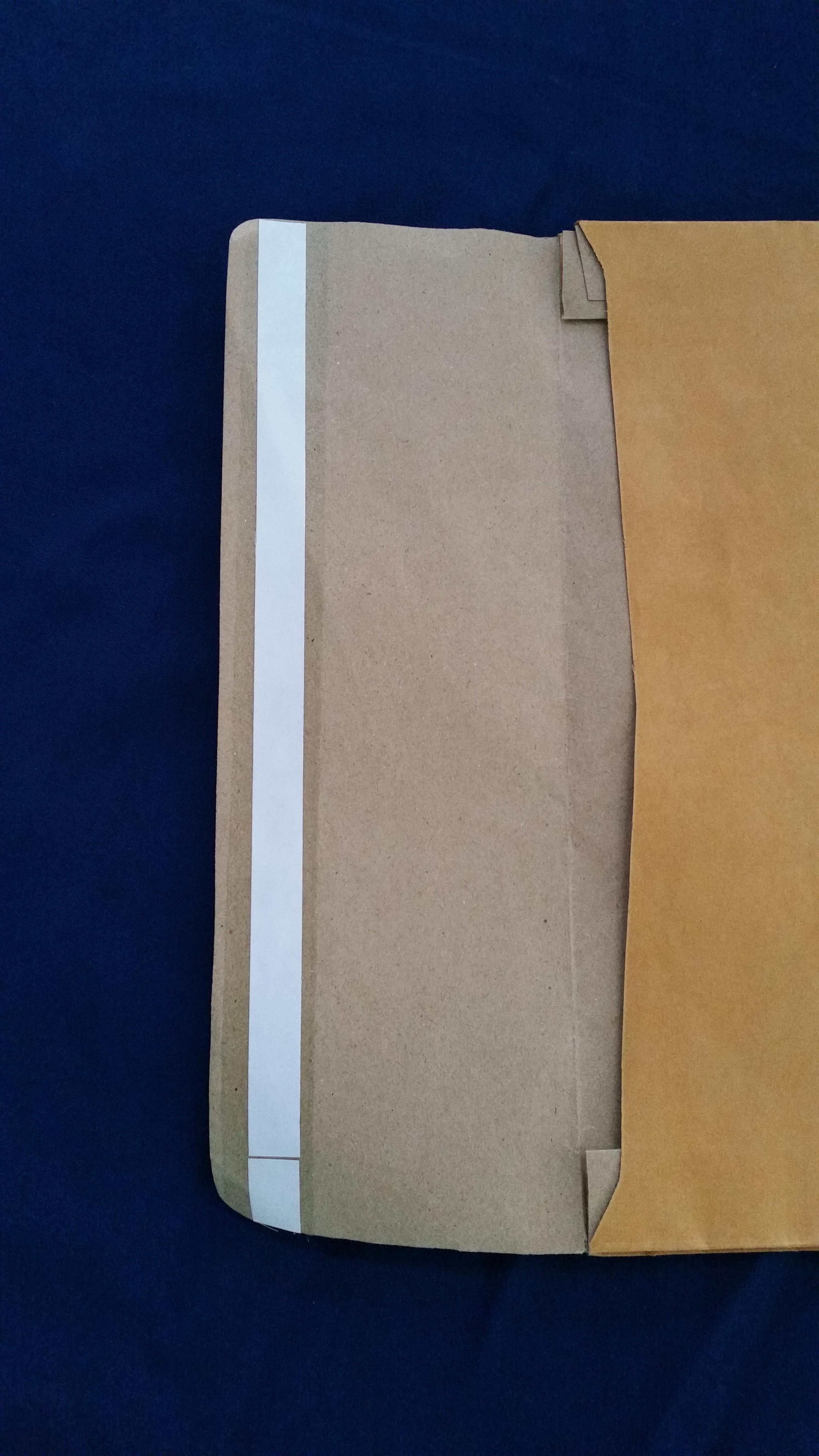 ซองเอกสารขยายข้าง กระดาษ KA แบบมีเทปกาว
