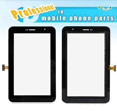 """เปลี่ยนทัสกรีน Samsung TAB2 7"""" P6200 P3100 P1000 T211 กระจกหน้าจอแตก ทัสกรีนกดไม่ได้"""
