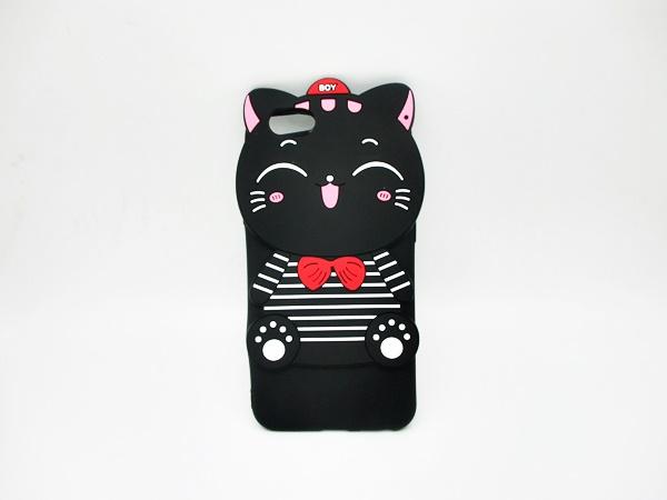 OPPO A71 เคสยาง 3Dแมวดำ