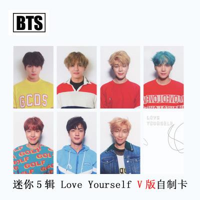 ชุดการ์ด #BTS 2017 Love Yourself Ver.V