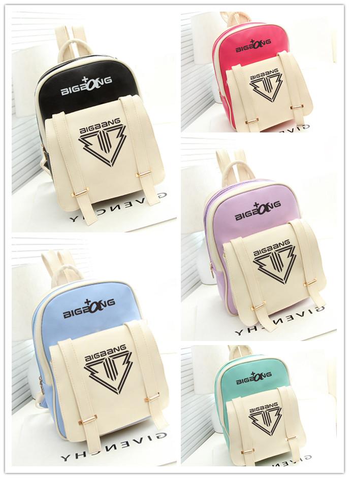 กระเป๋าเป้นักเรียนสีพาสเทล BIGBANG