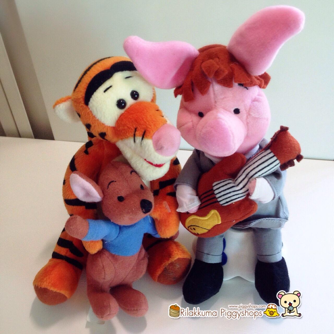 เสือน้อยทริกเกอร์อุ้มจิงโจ้น้ำตาล Tigger with Roo of Winnie the pooh