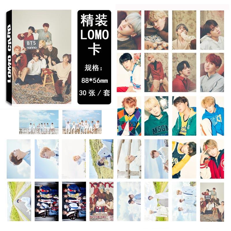 LOMO Card BTS 2018