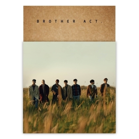 อัลบั้ม #BTOB - Album Vol.2 [Brother Act.] - CD