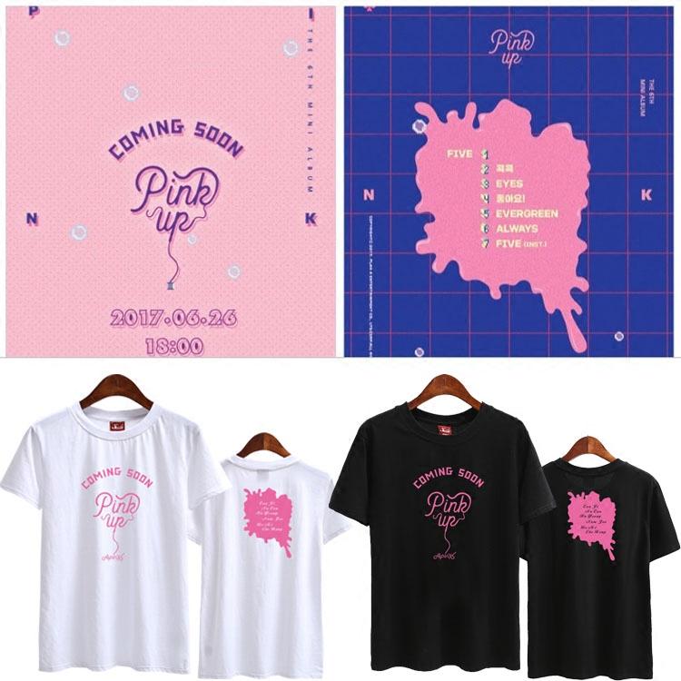 เสื้อยืด (T-Shirt) Apink - Pink Up