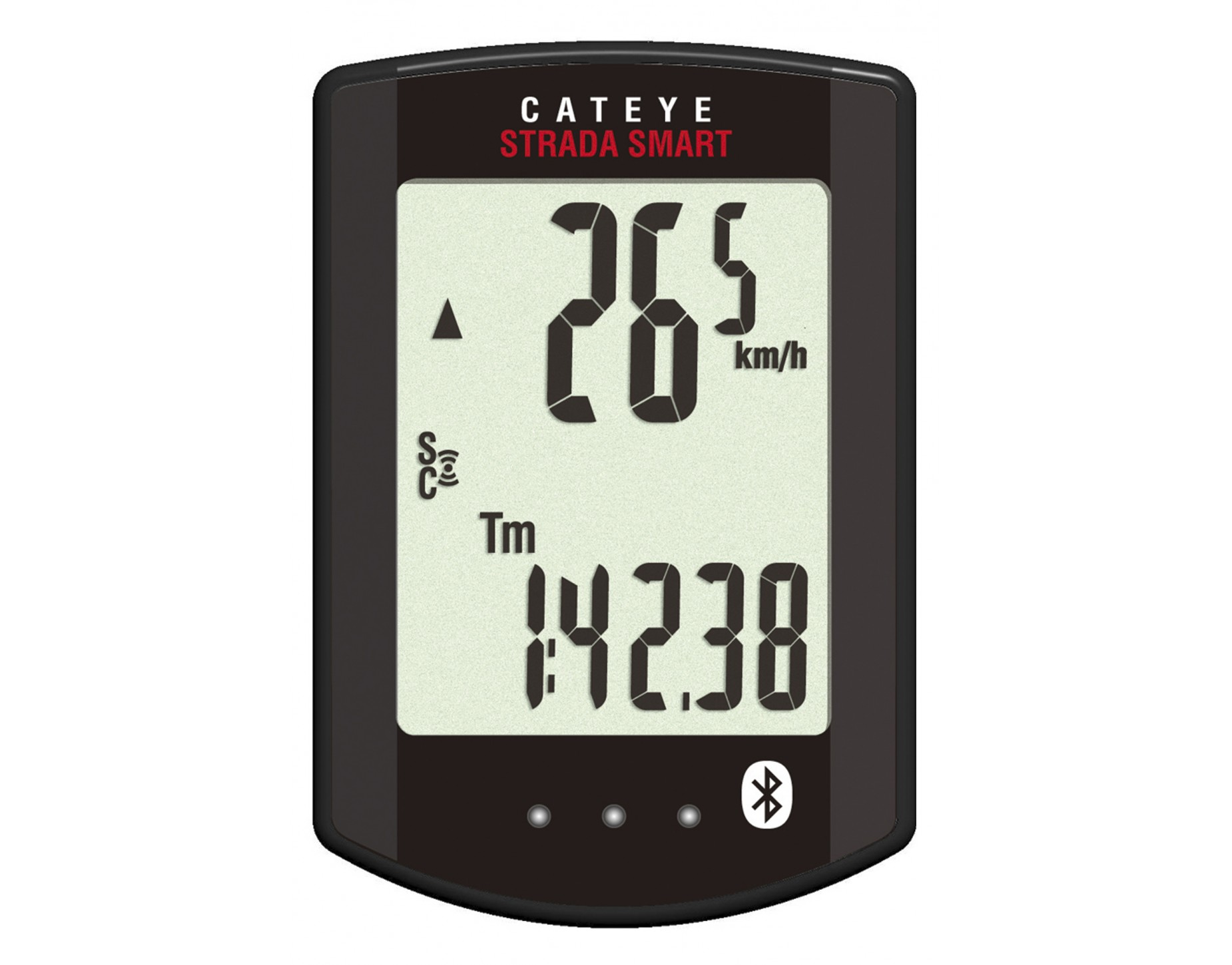 CATEYE ไมล์ไร้สาย STRADA SMART, CC-RD500B, ขายเฉพาะตัวเรือนไมล์