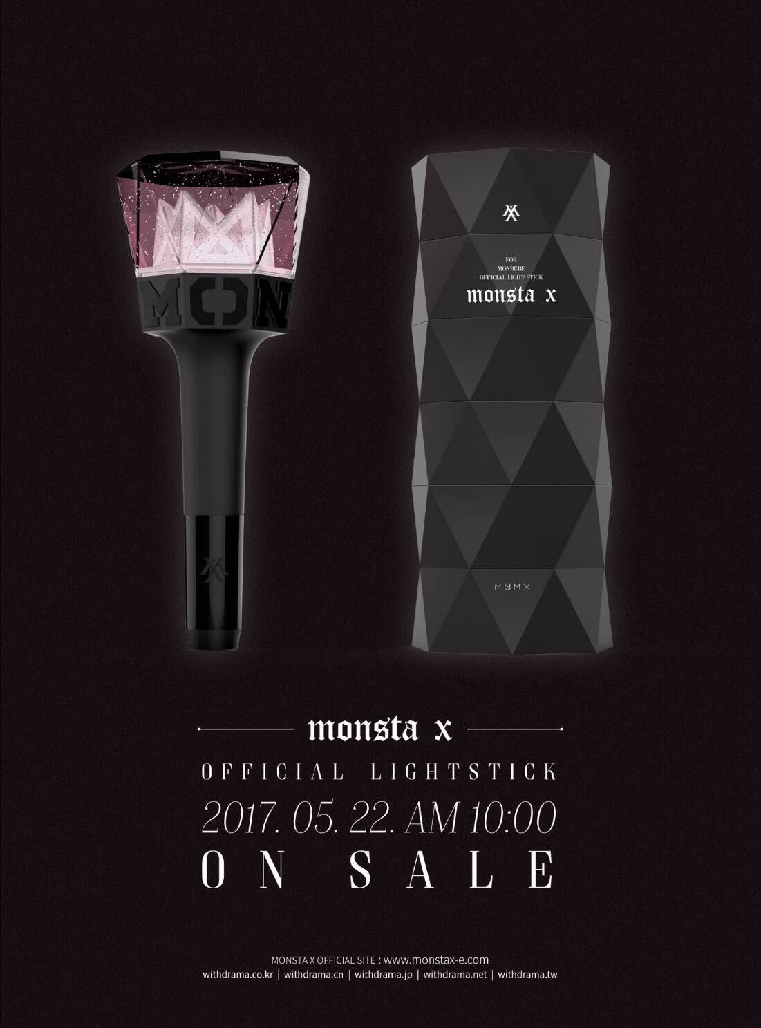 แท่งไฟ [#MONSTA_X] OFFICIAL LIGHT STICK