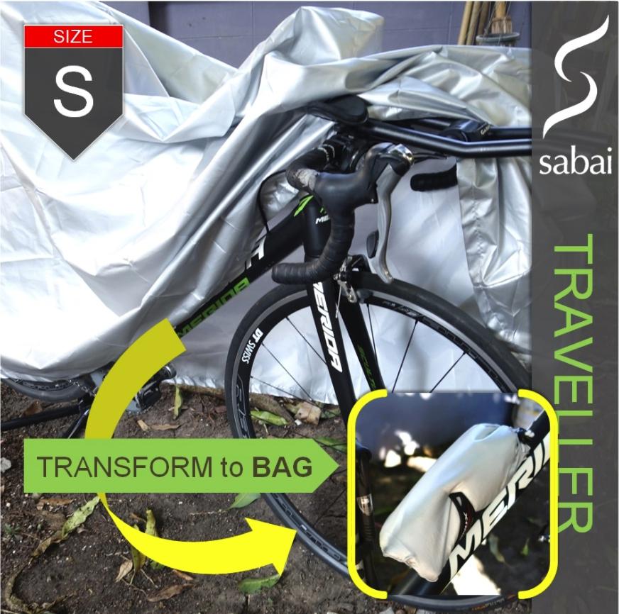 sabai cover ผ้าคลุมจักรยาน - รุ่น TRAVELLER (S,M,L,XL)