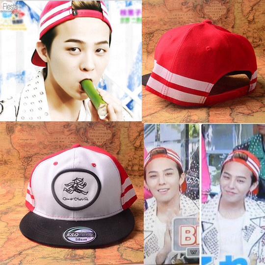 หมวกแฟชั่น BIGBANG G-DRAGON