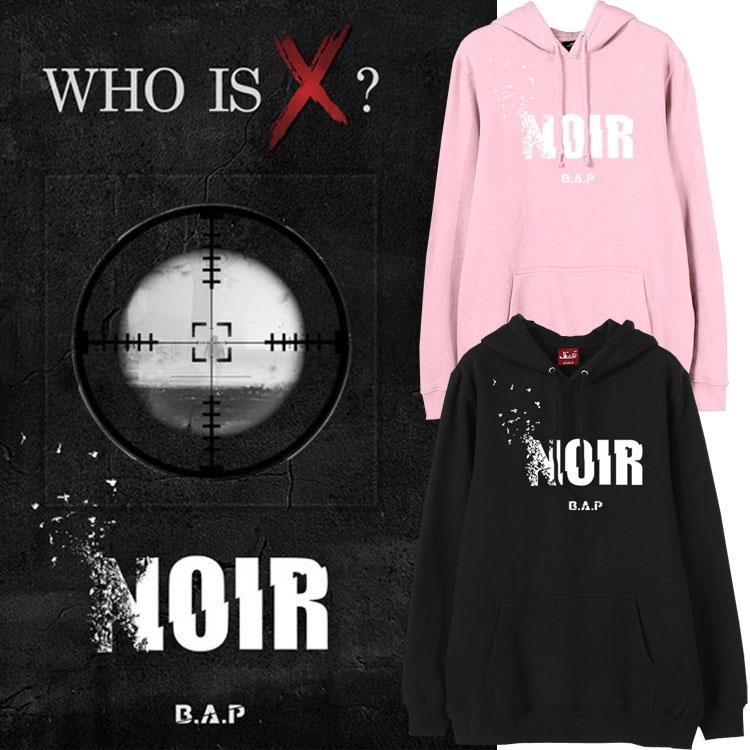 เสื้อฮู้ด (Hoodie) B.A.P - NOIR (ver.1)