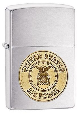 """ไฟแช็ค Zippo แท้ กองทัพอากาศสหรัฐอเมริกา """" Zippo 280ACF, United States Air Force Emblem Emblem """" แท้นำเข้า 100%"""