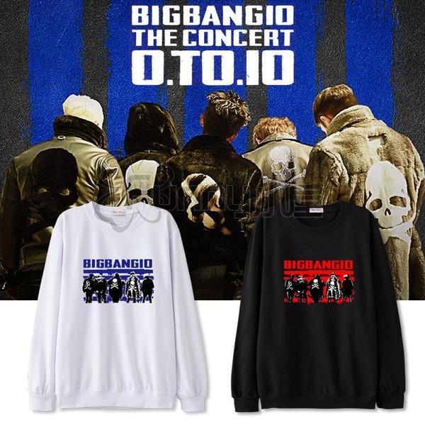 เสื้อแขนยาว เสื้อกันหนาว Bigbang10 (ระบุไซส์ สี)