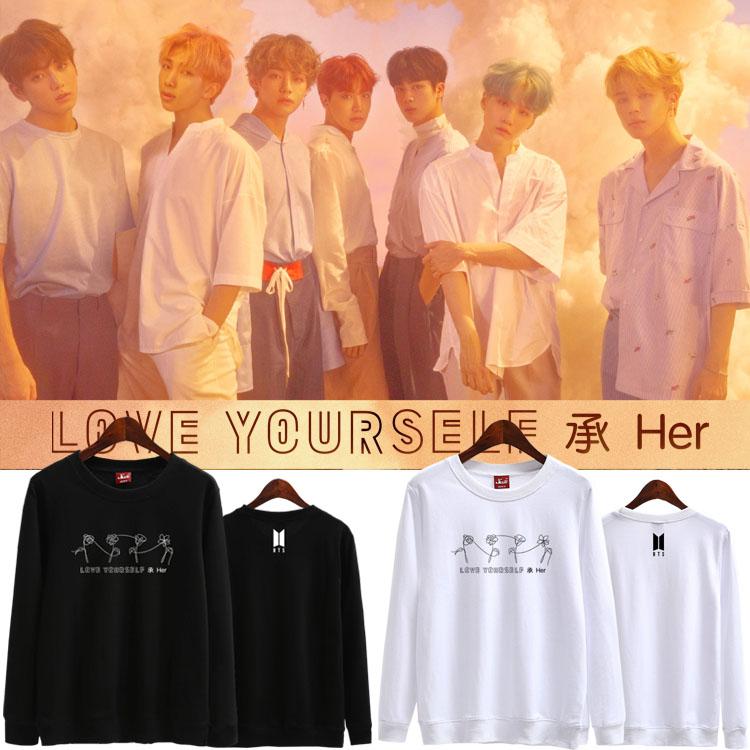 เสื้อแขนยาว (Sweater) BTS Love Yourself