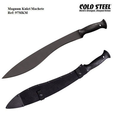 Cold Steel Magnum Kukri Machete 97MKM with sheath