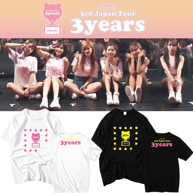 เสื้อยืด (T-Shirt) A-pink 3 Years
