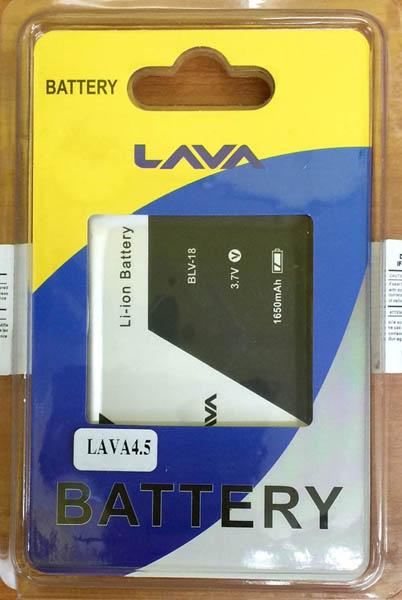 แบตเตอรี่ AIS LAVA 4.5 ความจุ 1,650 mAh