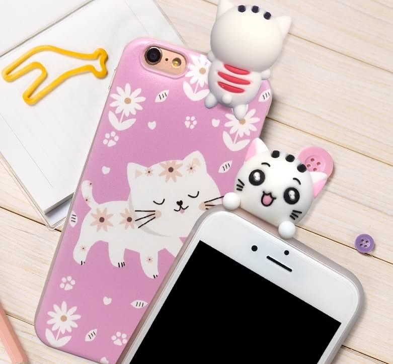 เคส tpu ลายแมวเกาะ ไอโฟน 6Plus/6s Plus 5.5ใช้ภาพรุ่นอื่นแทน