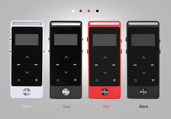 Benjie S5 plus เครื่องเล่นเพลงพกพารองรับไฟล์ Lossless MP3 FLAC พร้อมระบบ Bluetooth