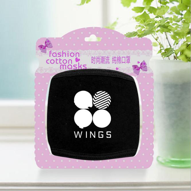 ผ้าปิดปาก BTS wings