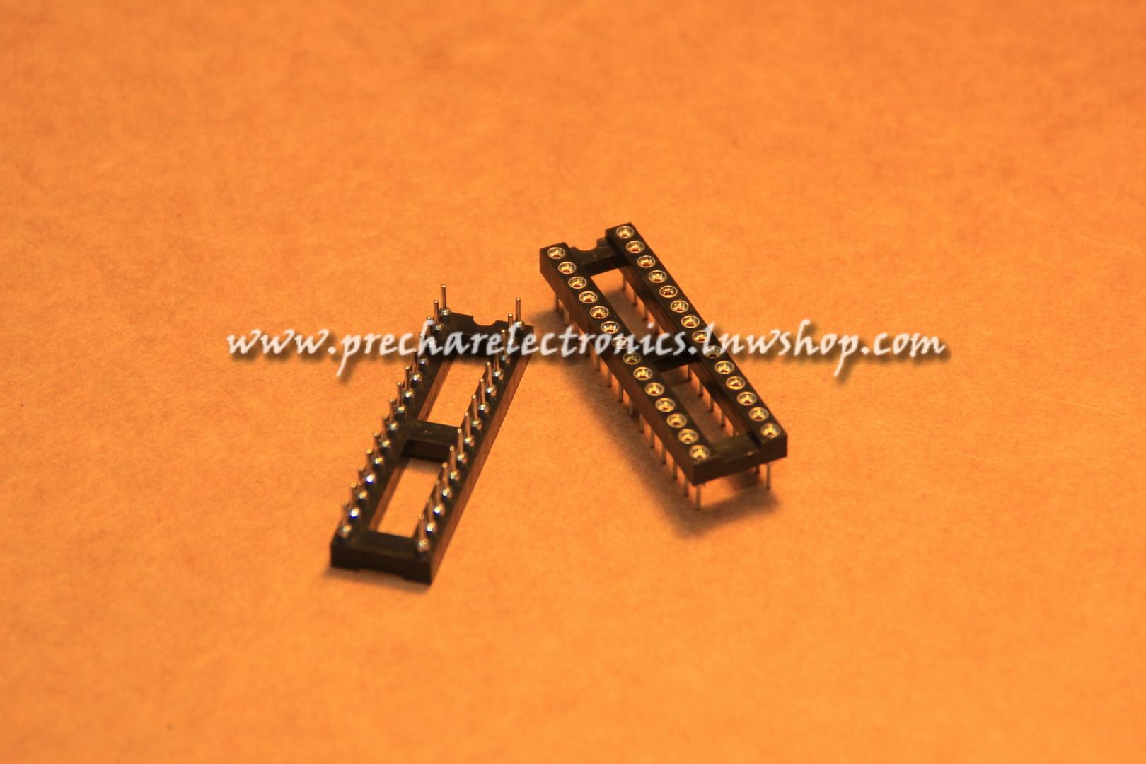Socket IC 28 ขา (อย่างดี)