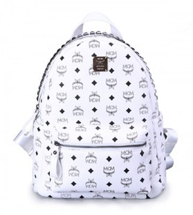 กระเป๋า MCM สีขาว(ไม่ปักหมุด)