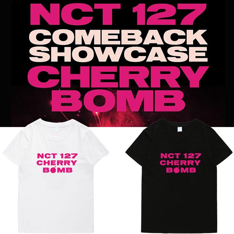 เสื้อยืด (T-Shirt) NCT127 -CHERRY BOMB