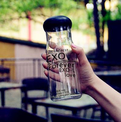 ขวดน้ำ แก้วน้ำ #EXO LOGO