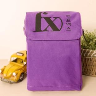 กระเป๋าสะพายF(X)(สี่เหลี่ยมสีม่วง)