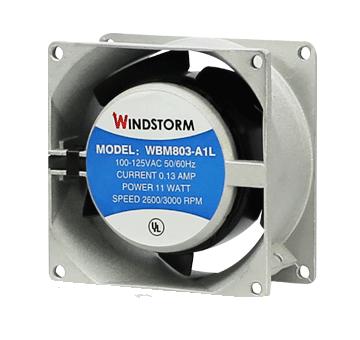 พัดลม 4.5 WB123H7PS-A2L-G 220VAC (WB123-A2LG)