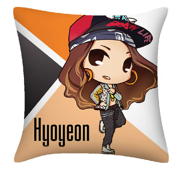[พร้อมส่ง] หมอน Hyoyeon - fanart