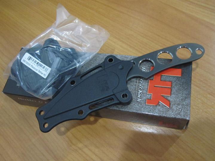 Benchmade Heckler & Koch Instigator Modified Wharncliffe Blade,