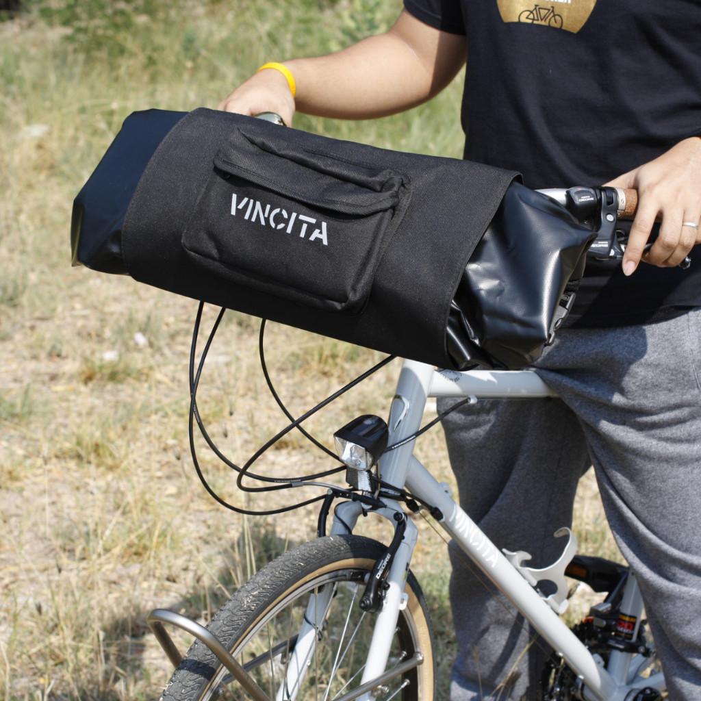 กระเป๋าหน้าแฮนด์ Vincit ,B010BP BIKEPACKING HANDLEBAR FRONT BAG
