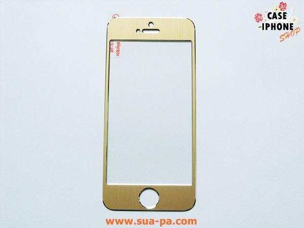 ฟิล์มกระจกนิรภัย ไทเทเนียม Iphone 5/5s