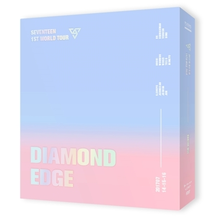 #SEVENTEEN) - 2017 SEVENTEEN 1ST WORLD TOUR [DIAMOND EDGE IN SEOUL] CONCERT DVD (3 DISC)