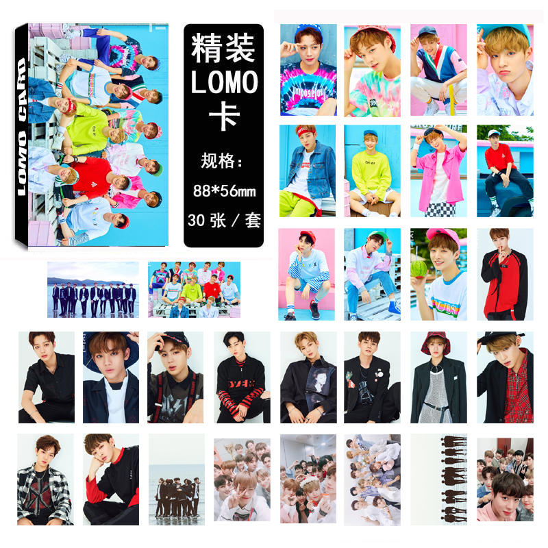 LOMO Card WANNA ONE - TO BE ONE
