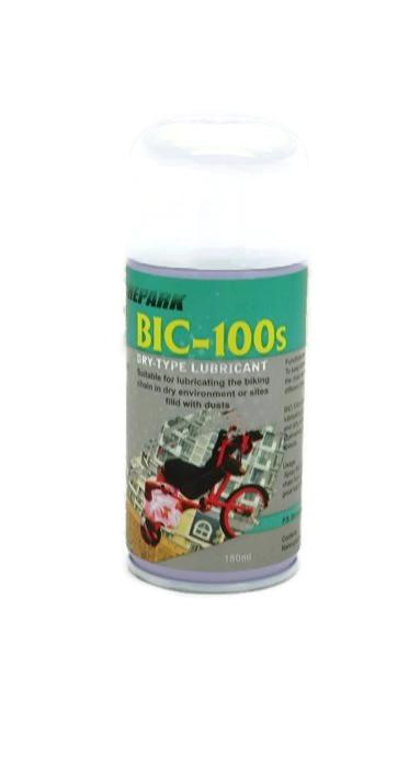 สเปรย์หล่อลื่นโซ่จักรยานชนิดแห้ง BIC-100s