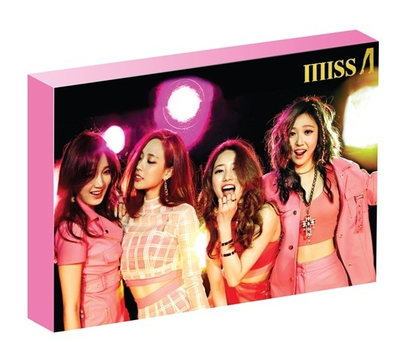 Miss A - Special Package MD Set (Scheduler, Can Butten 4EA + Glitter Slogan)