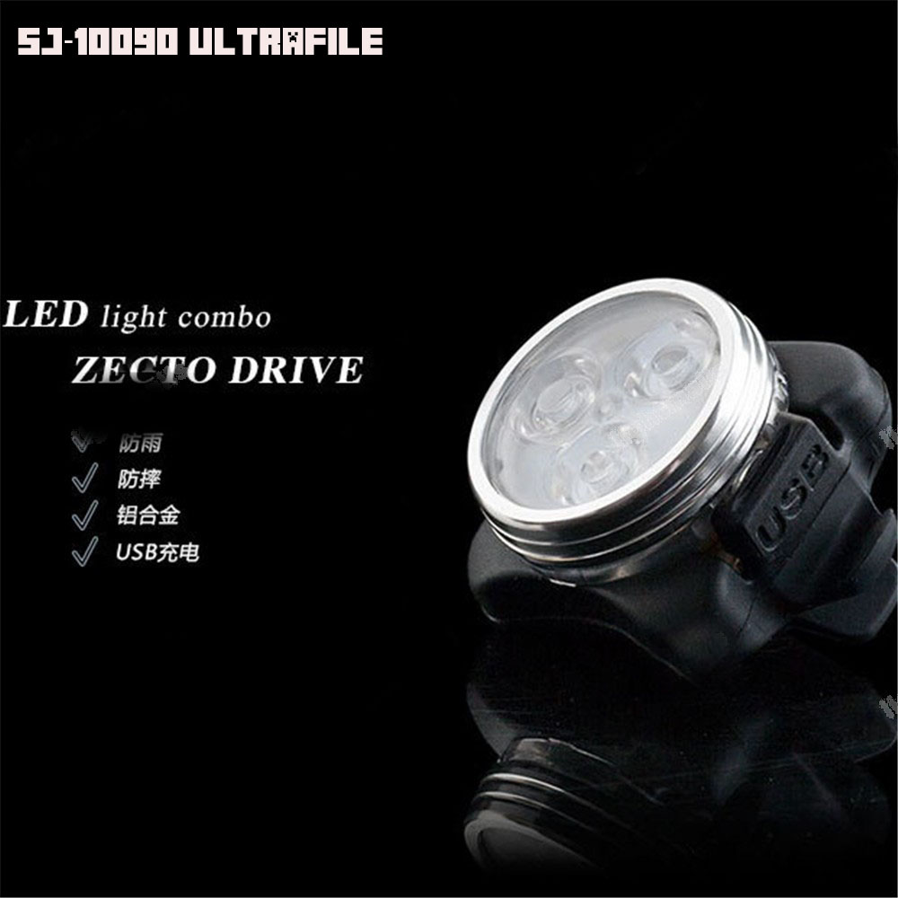 ไฟหน้า ULTRAFIRE 3Leds รุ่น SJ-10900 (USB Rechargable)