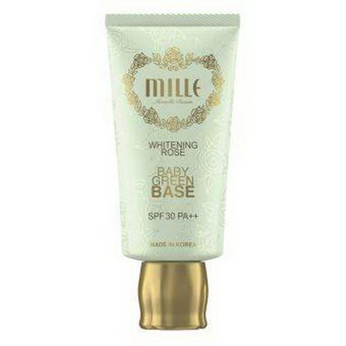 Mille Whitening Rose Baby Green Base SPF 30 PA++