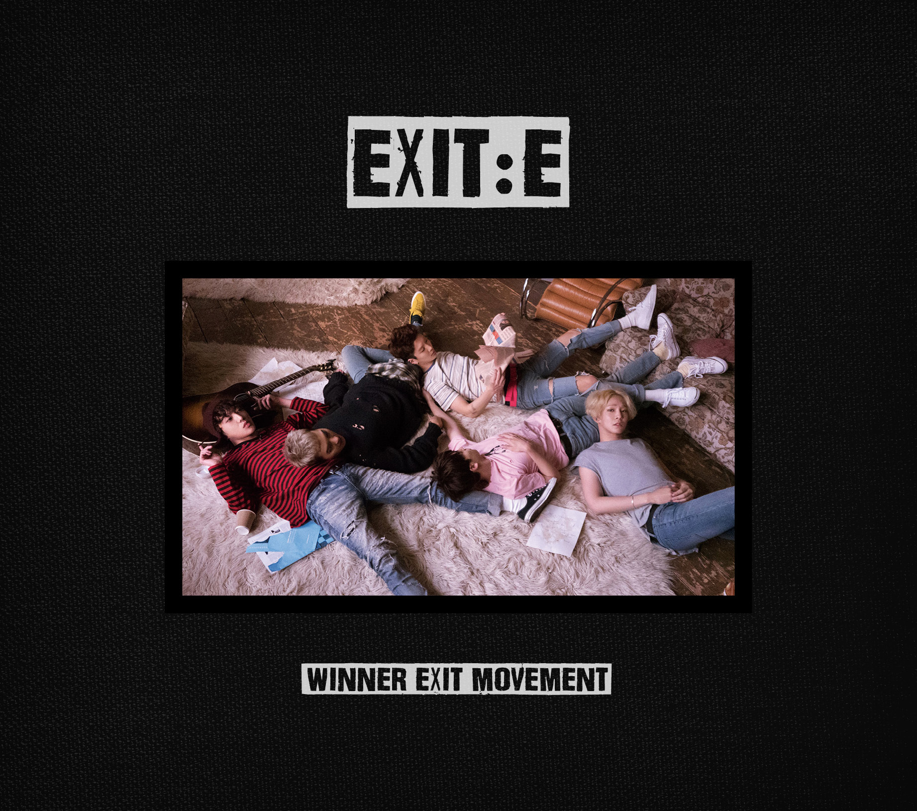 WINNER - Mini Album Vol.1 [EXIT : E] (A ver.)