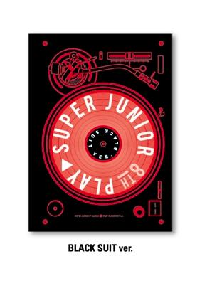 อัลบั้ม #SuperJunior - Album Vol.8 [PLAY] Black Suit Ver.