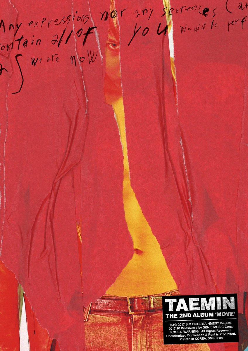 อัลบั้ม #SHINEE : #TAEMIN - Album Vol.2 [MOVE]