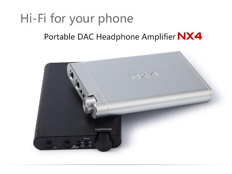 Topping Nx4 แอมป์พกพากำลังขับสูง รองรับการใช้งาน USB DAC ในตัว รองรับทั้ง Computer iOS และ Android
