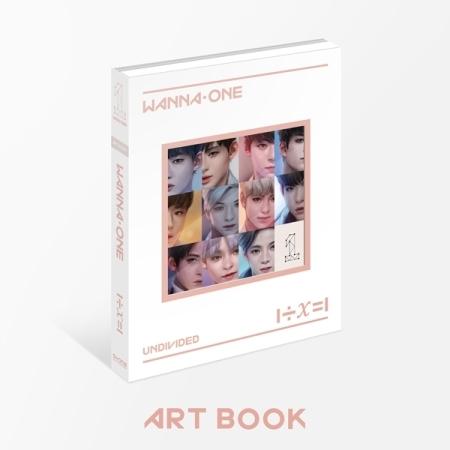 อัลบั้ม #WANNA ONE - Special Album [1÷χ=1 (UNDIVIDED) ART BOOK VER.