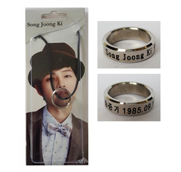 แหวน, สร้อยคอ Descendants of the Sun Song Joong Ki
