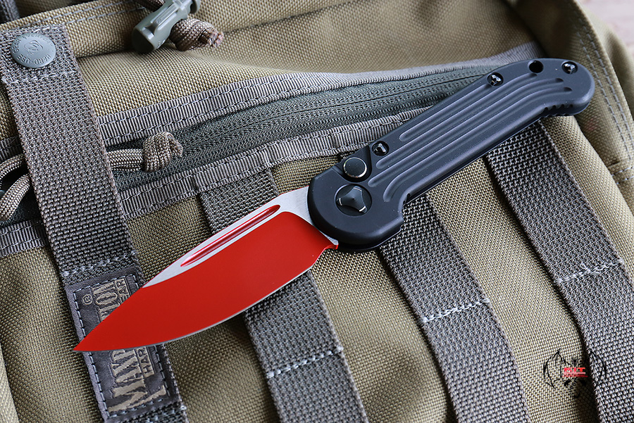 "Microtech LUDT Sith Lord Automatic Knife (3.4"" Red) 135-1SL"