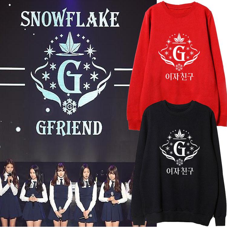 เสื้อแขนยาวกันหนาว (Sweater) G-FRIEND - Snowflake