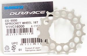 ใบสเตอร์หลัง DURA-ACE, CS-9000, ขนาด 16T,Y1Yc16000
