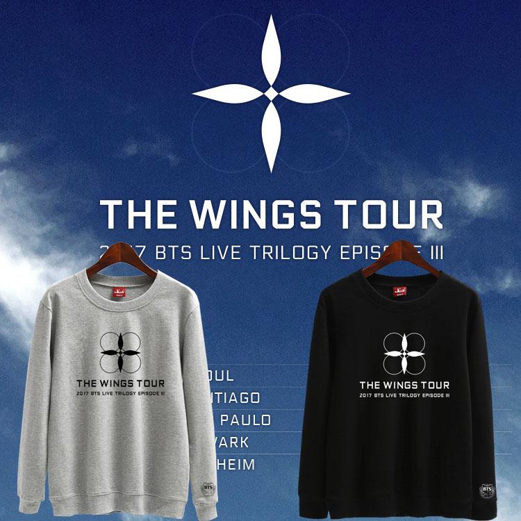 เสื้อแขนยาว (Sweater) BTS THE WINGS TOUR