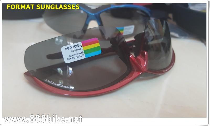 แว่นตา FORMAT รุ่น E-FTM0089 5 เลนส์ พร้อมคลิปออน(มีสีแดงสีฟ้าหมด)